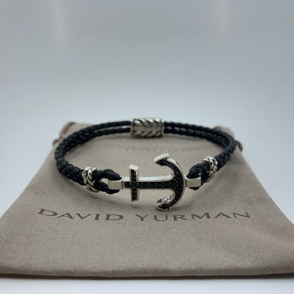 David Yurman Jewelry - David Yurman Maritime Black Diamond Anchor